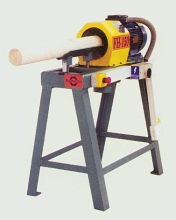 wood fence post making machine